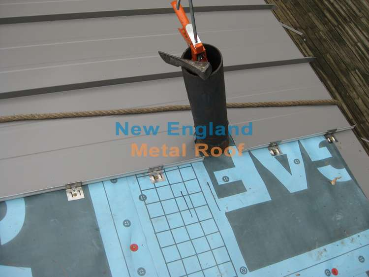 Standing Seam Metal Roof Installation Details Will